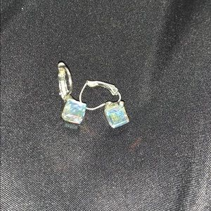 Swarovski crystal ear rings